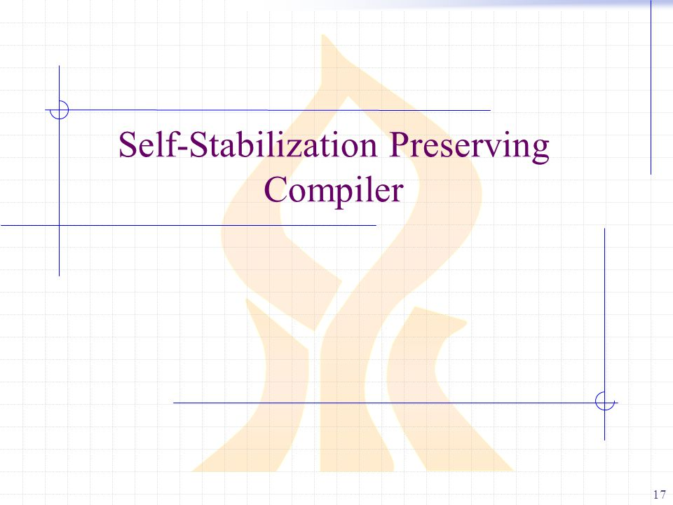 17 Self-Stabilization Preserving Compiler