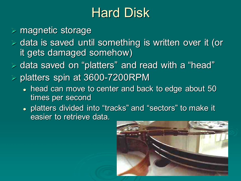 Optical Media Not as fast as magnetic hard disks Not as fast as magnetic hard disks Massive storage capacity and reliability Massive storage capacity and reliability Optical disk drive uses laser beams to read and write bits of information on the disk surface.