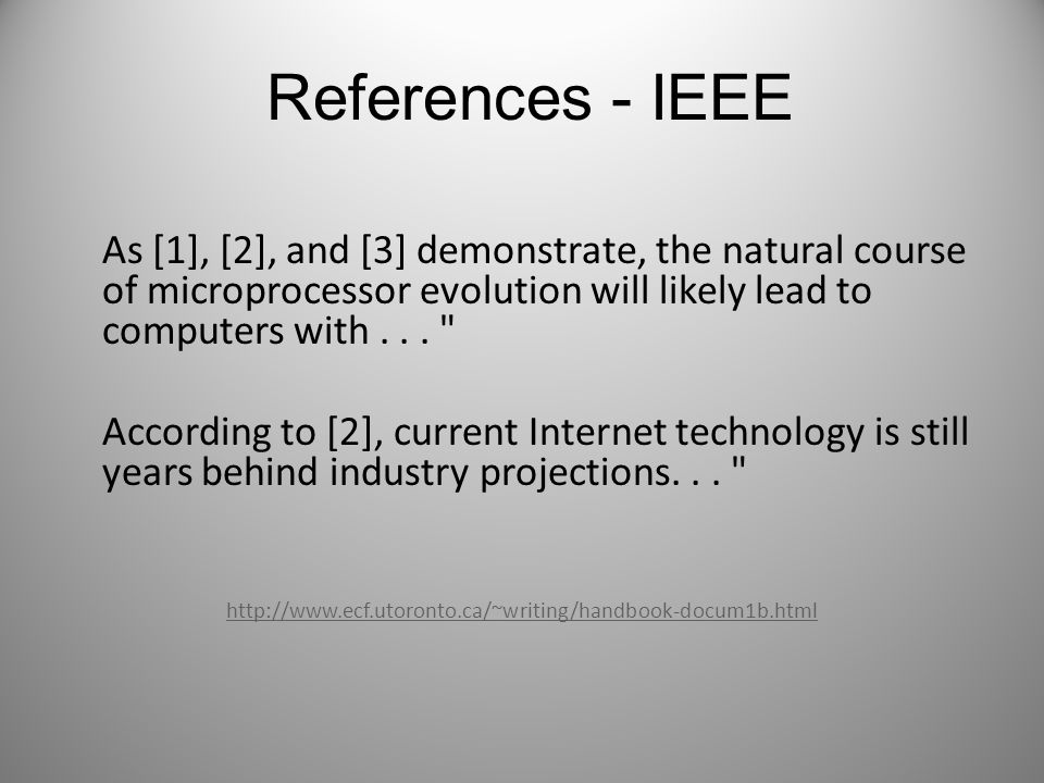 References - IEEE As [1], [2], and [3] demonstrate, the natural course of microprocessor evolution will likely lead to computers with...