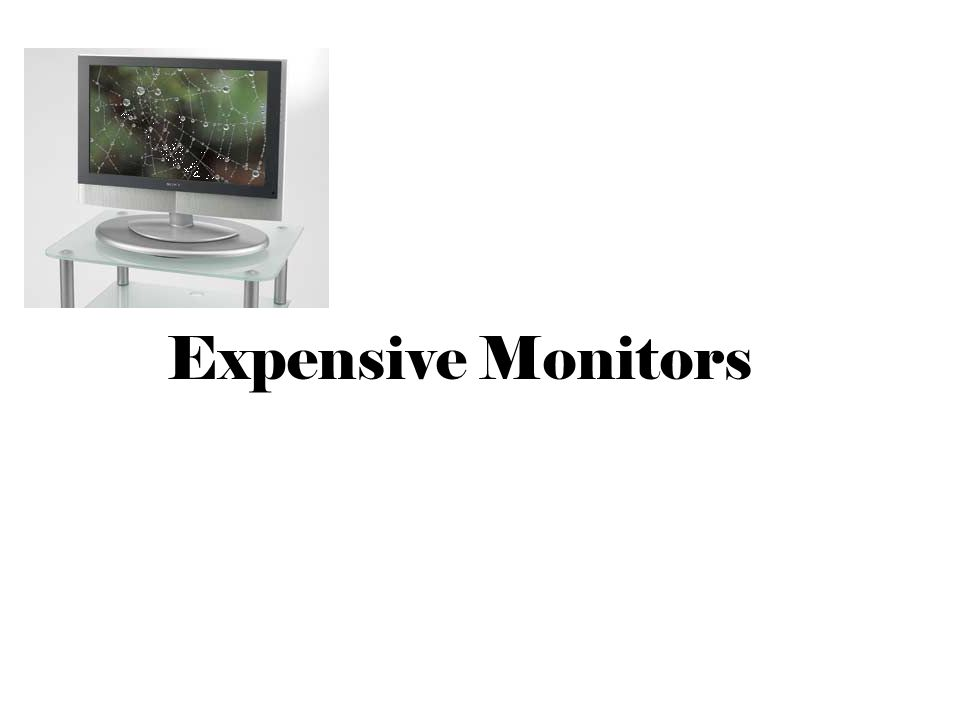 Expensive Monitors
