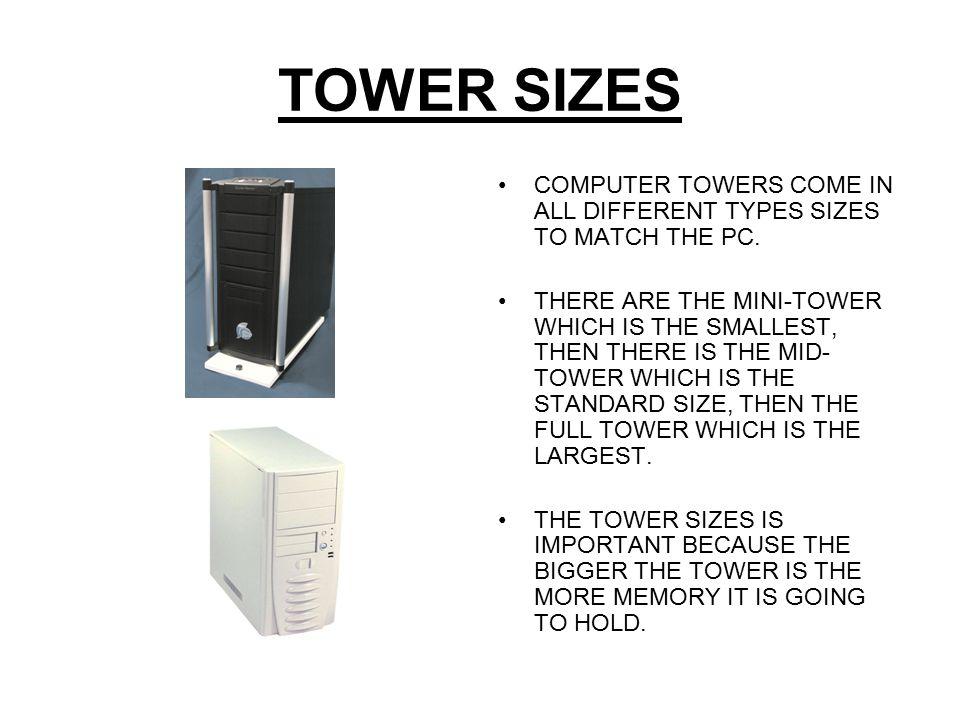 TOWER CASE BREAK DOWN