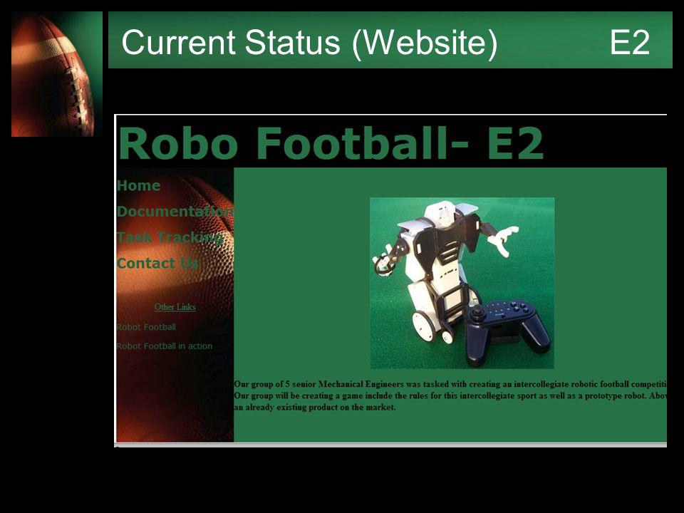 Current Status (Website) E2