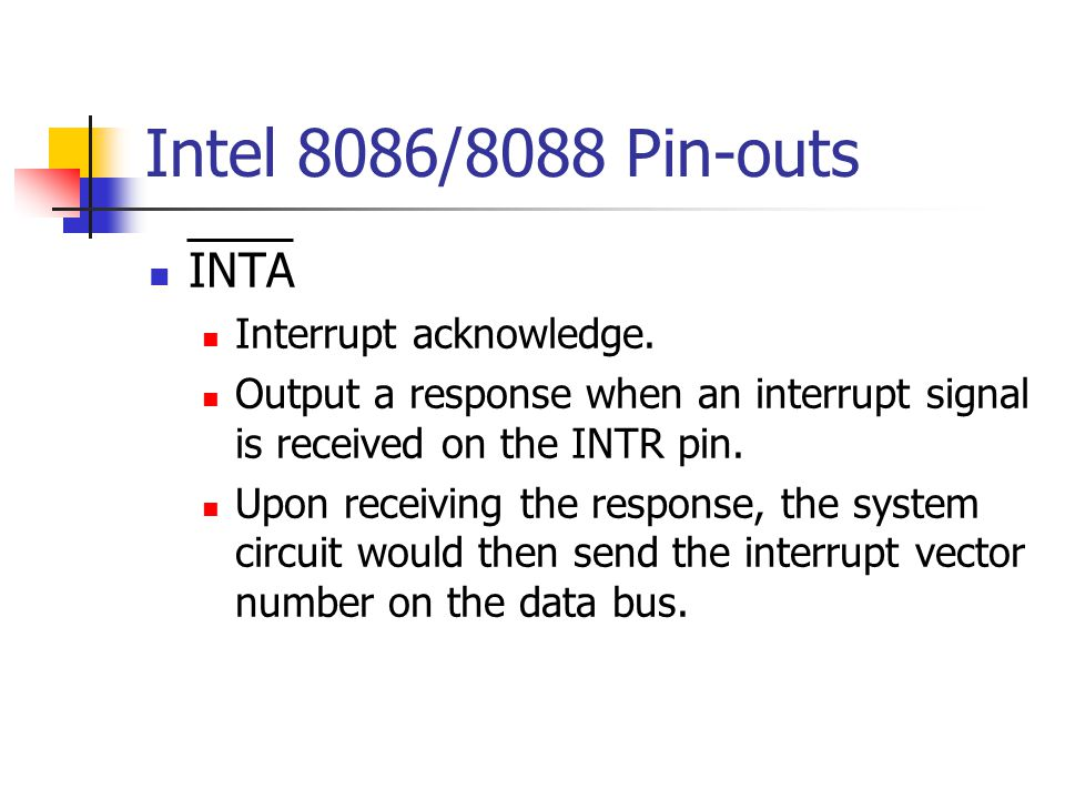 Personal Computer I/O Map This diagram shows an example of I/O map for a PC.