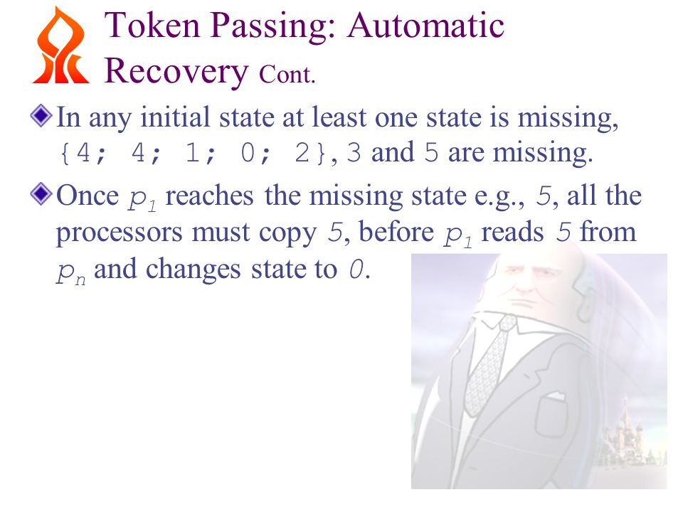 Token Passing: Automatic Recovery Cont.