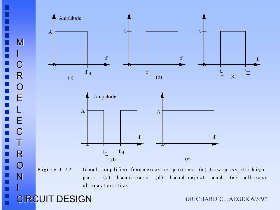 ©RICHARD C. JAEGER 6/5/97 MICROELECTRONI CIRCUIT DESIGN