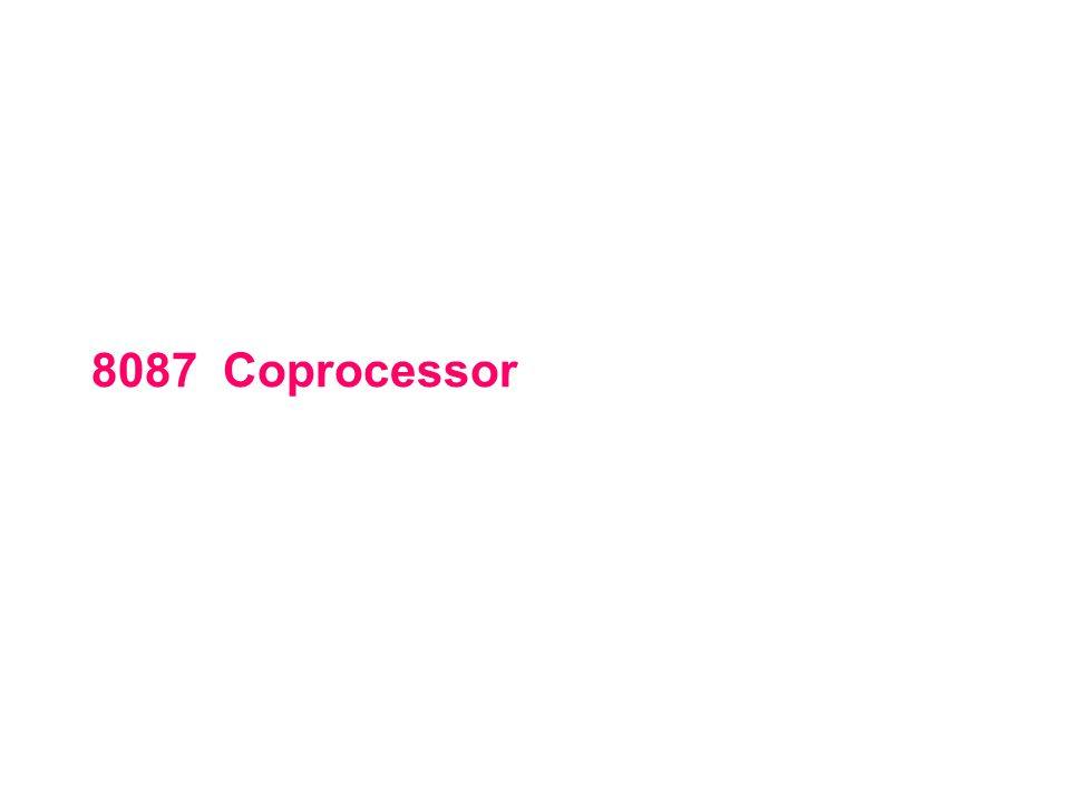 8087 Coprocessor