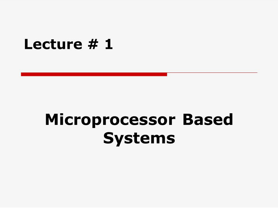 Microarchitecture of 8086/8088 Microprocessor Fetch & Execute Cycle