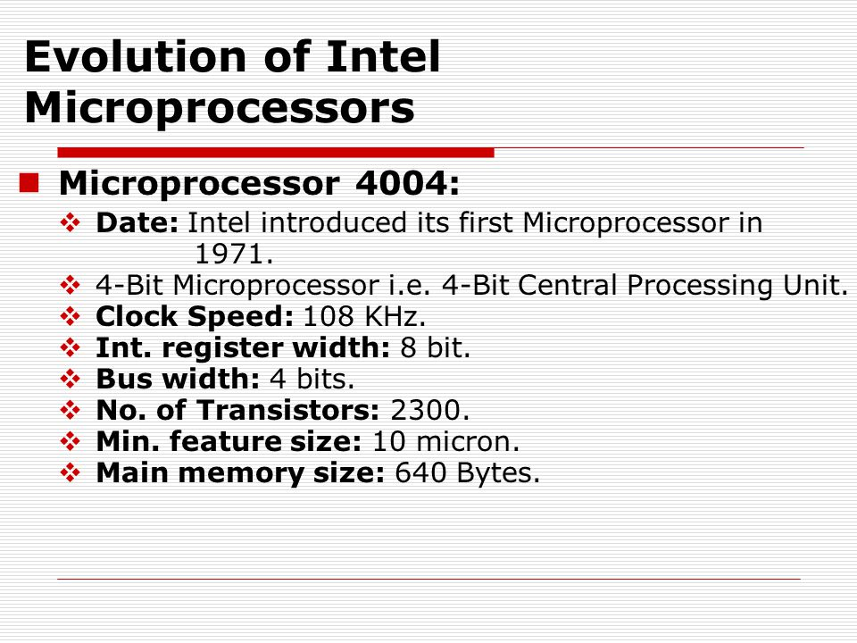Microprocessor 8008, 8080 & 8085:  Date: In 1974 second generation microprocessor was introduced.