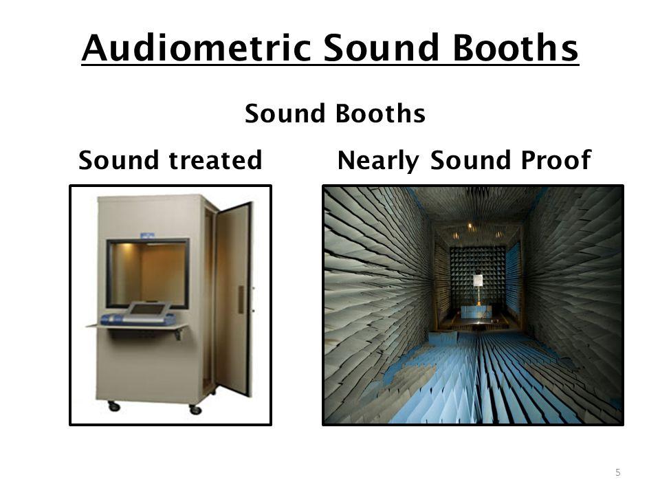 Audiometric Sound Booths 5 Sound Booths Sound treated Nearly Sound Proof