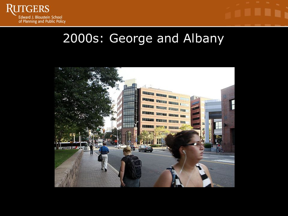 2000s: George and Albany