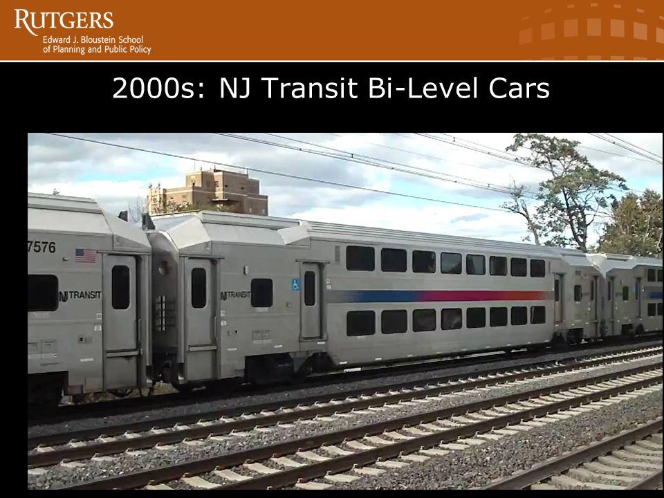 2000s: NJ Transit Bi-Level Cars