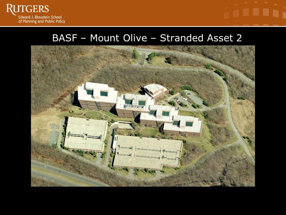 BASF in BASF – Mount Olive – Stranded Asset 2ve Source: Bing Maps 2011.