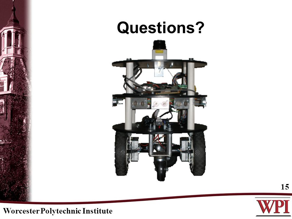 Questions Worcester Polytechnic Institute 15