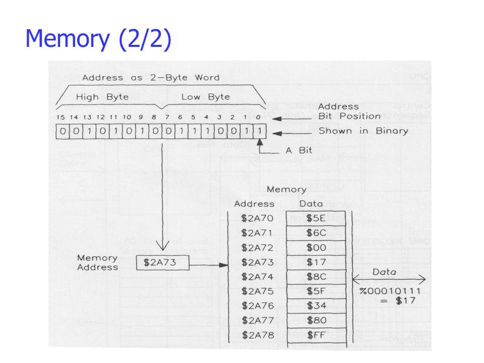 Memory (2/2)