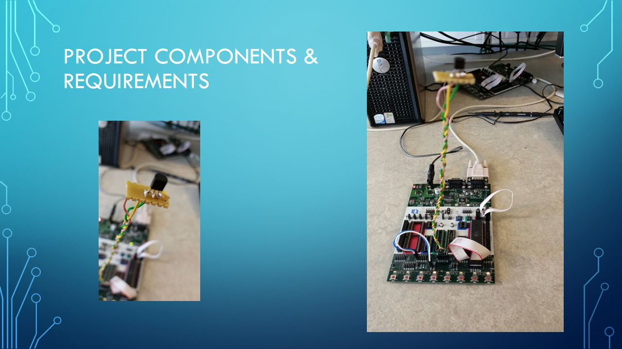 PROJECT COMPONENTS & REQUIREMENTS