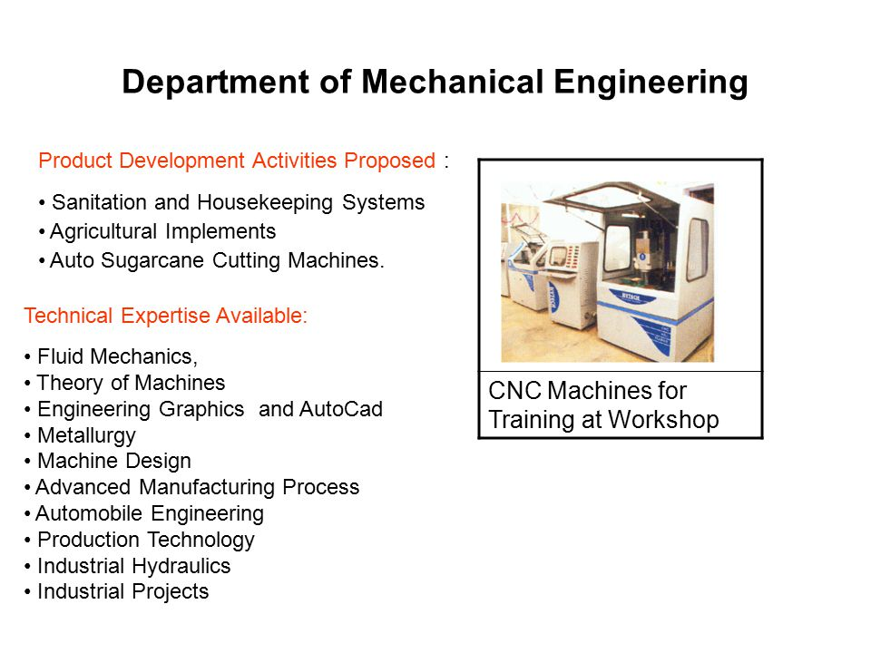 Department of Mechanical Engineering INDUSTRIAL HYDRAULICS & PNEUMATICS LAB THEORY OF MACHINES LAB METROLOGY & QUALITY CONTROL LAB HYTECH ENGINEERING