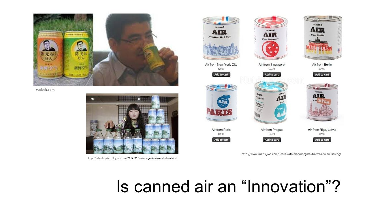 Is canned air an Innovation .