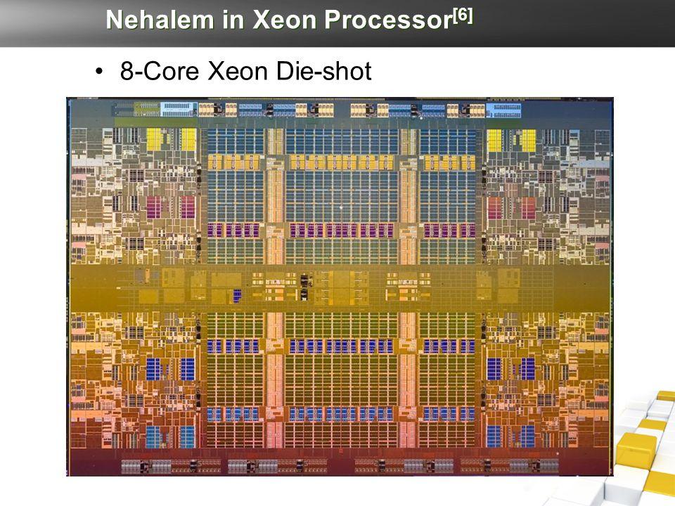 Nehalem in Xeon Processor [6] 8-Core Xeon Die-shot