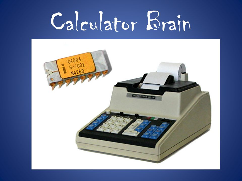 Calculator Brain