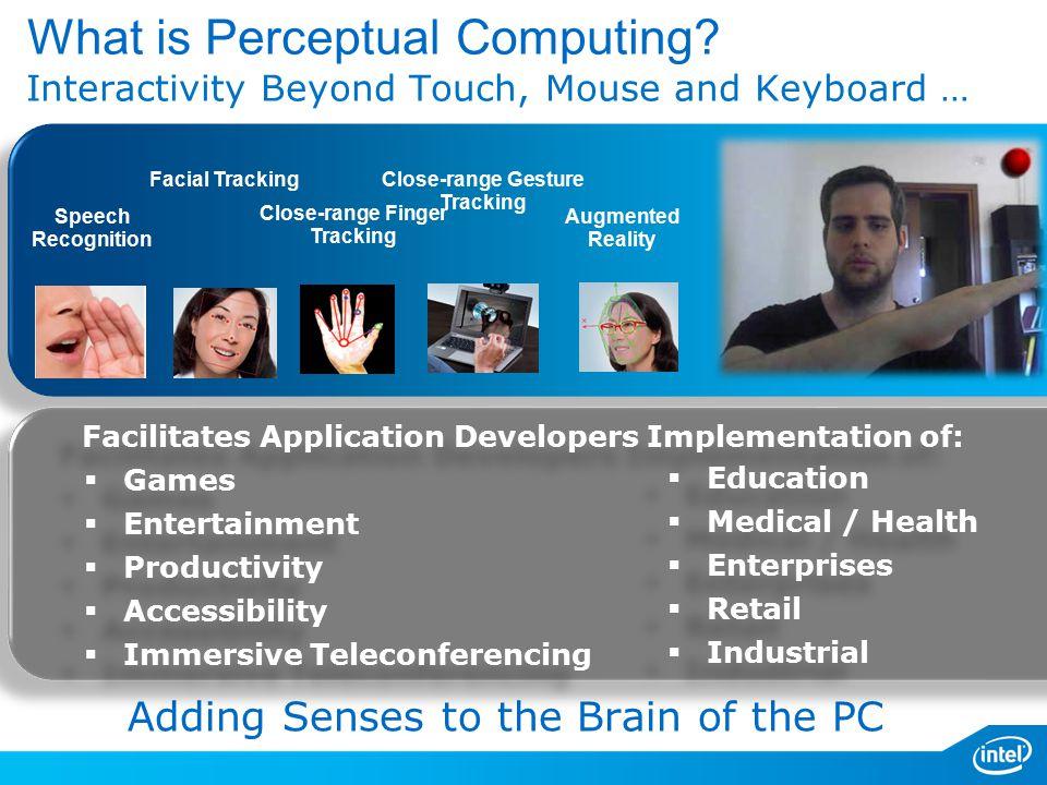 What is Perceptual Computing.