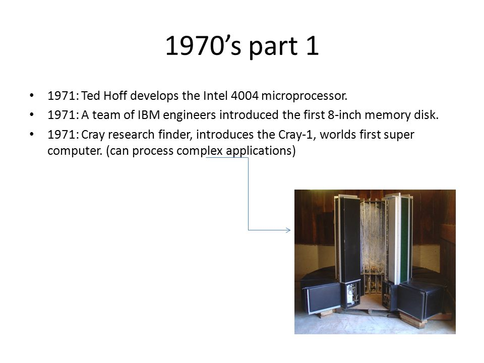 1970's part 2 1972: Hewlett-Packard introduces a series of scientific pocket calculators.