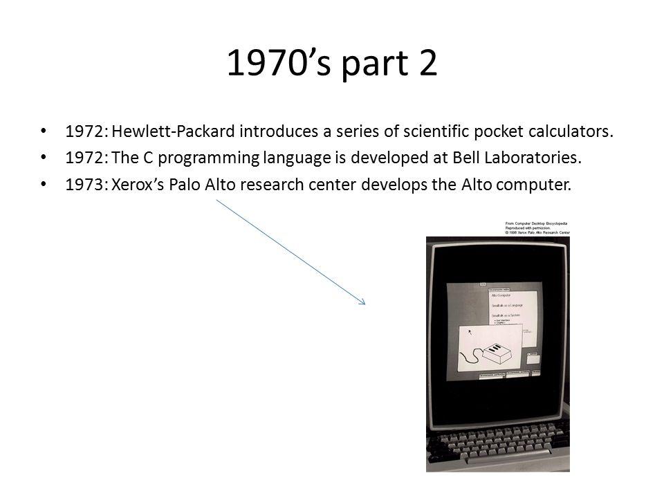 Continued… 1975: Dr.Robert Metcalf develops Ethernet.