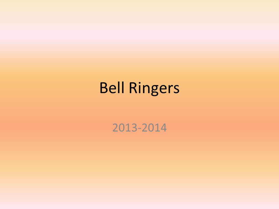 Bell Ringers 2013-2014