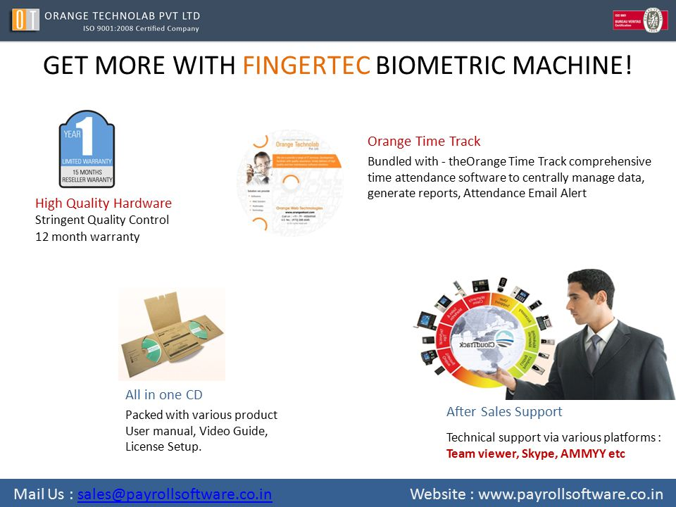 GET MORE WITH FINGERTEC BIOMETRIC MACHINE.