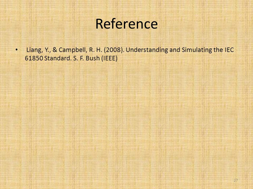 Reference Liang, Y., & Campbell, R. H. (2008).