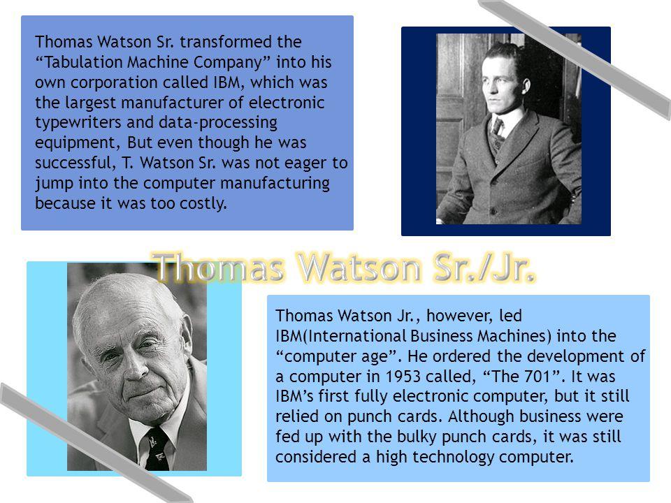Thomas Watson Sr.