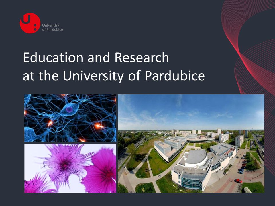 Education and Research at the University of Pardubice