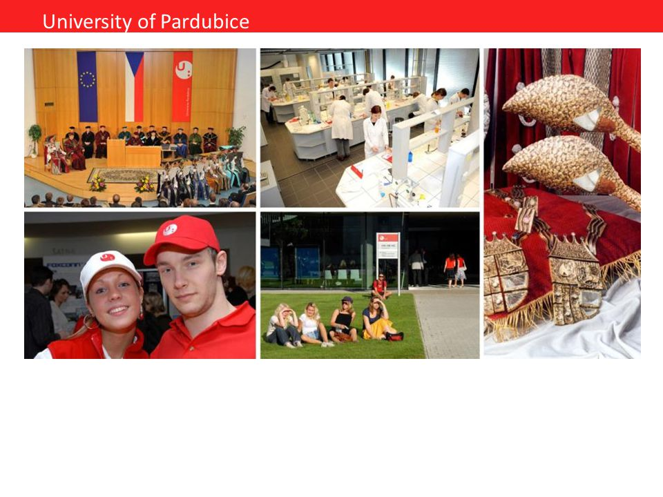 University of Pardubice The modern facilities of the University campus near the city centre create ideal conditions for the all-around development of