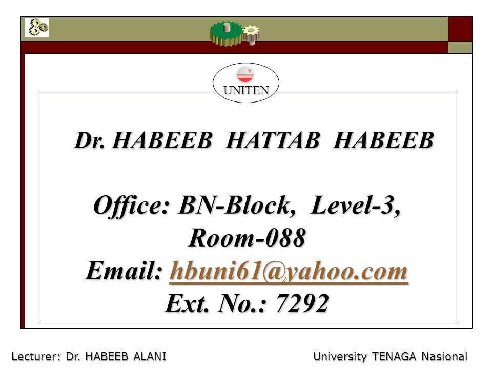 Dr. HABEEB HATTAB HABEEB Dr.
