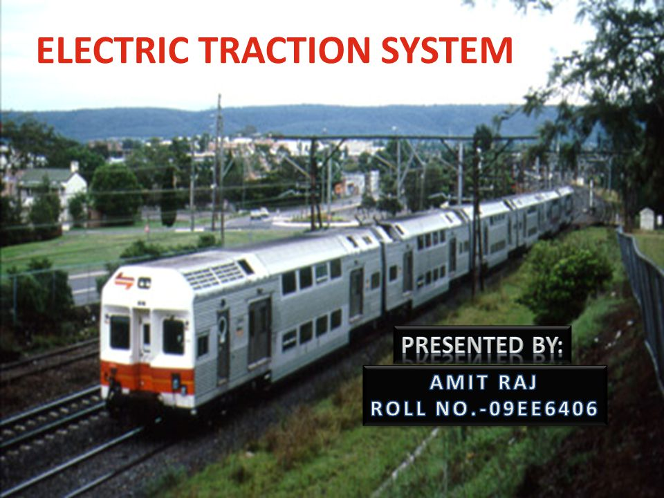 ELECTRIC TRACTION SYSTEM
