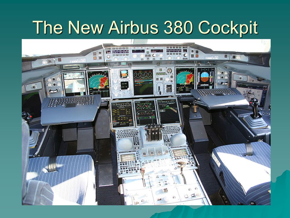 The New Airbus 380 Cockpit