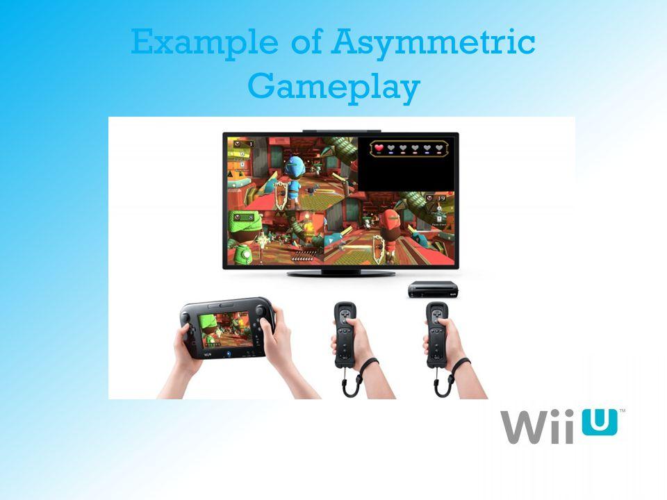 Example of Asymmetric Gameplay
