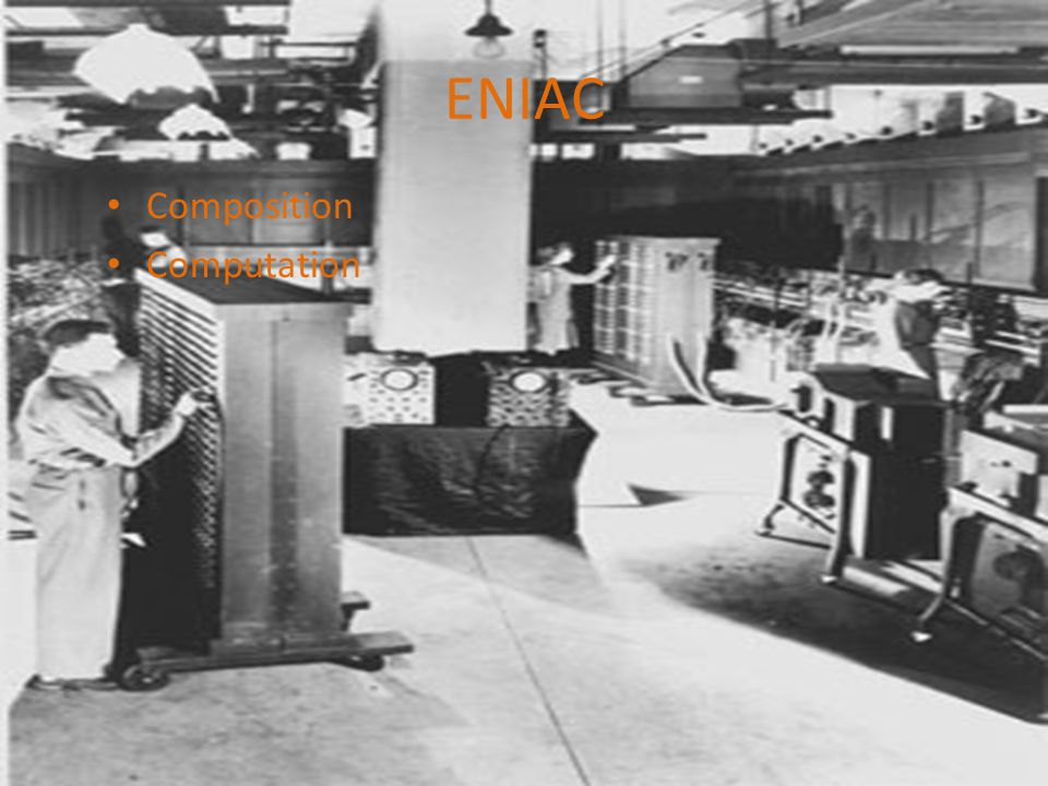 ENIAC Composition Computation