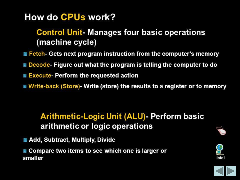How do CPUs work.