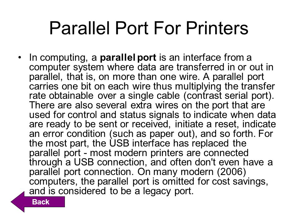Peripheral Component Interconnect (PCI) The Peripheral Component Interconnect standard (in practice almost always shortened to PCI) specifies a computer bus for attaching peripheral devices to a computer motherboard.