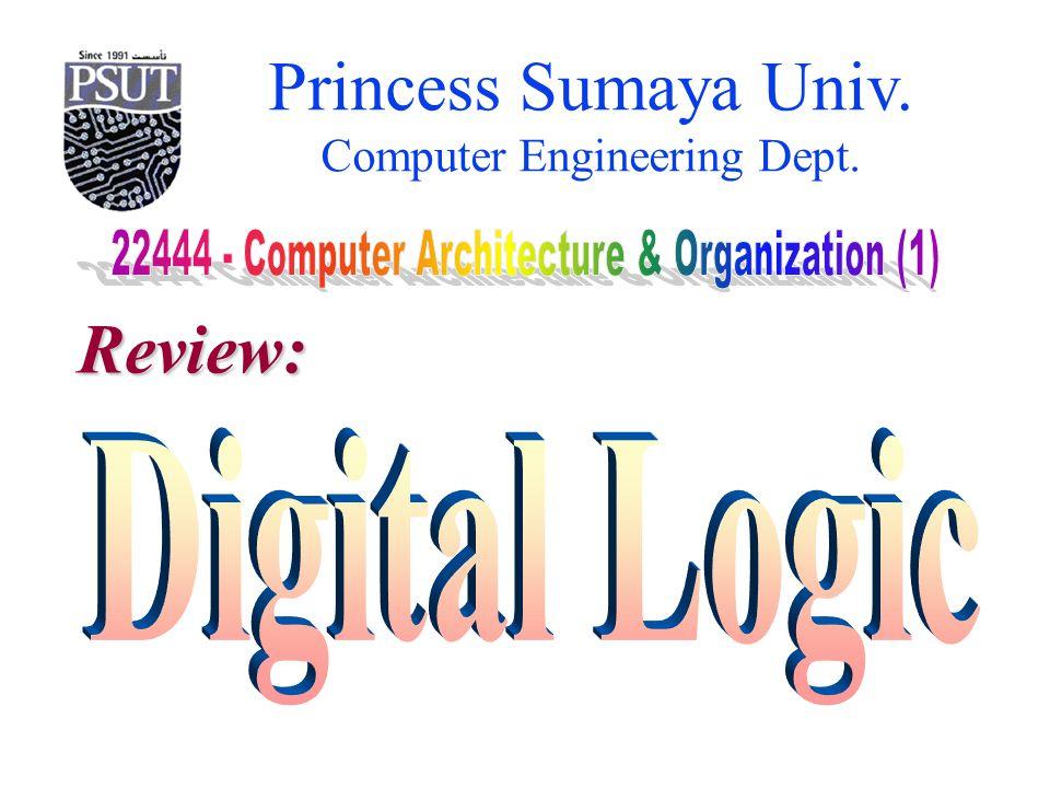 Princess Sumaya Univ. Computer Engineering Dept. Review: