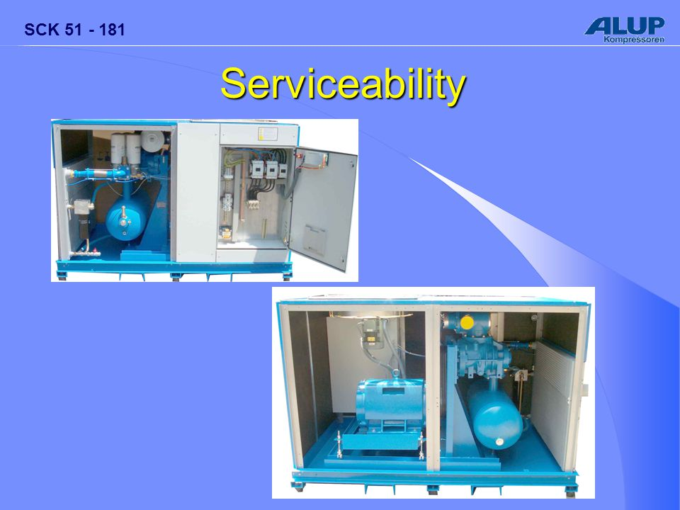SCK 51 - 181 Serviceability
