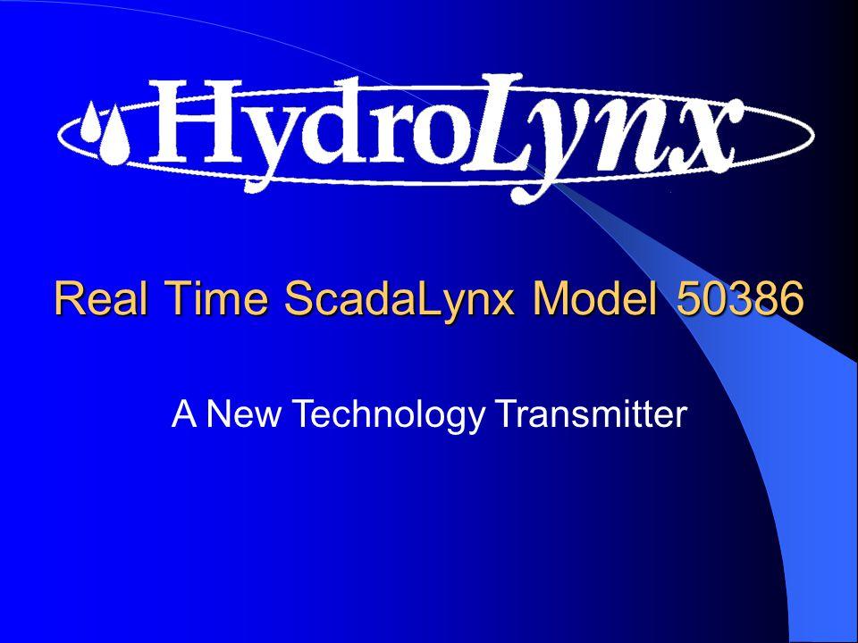 System Applications Satellite SCADA Two-Way Radio ALERT/IFLOWS Phone Modem Data Logging Multiple Path
