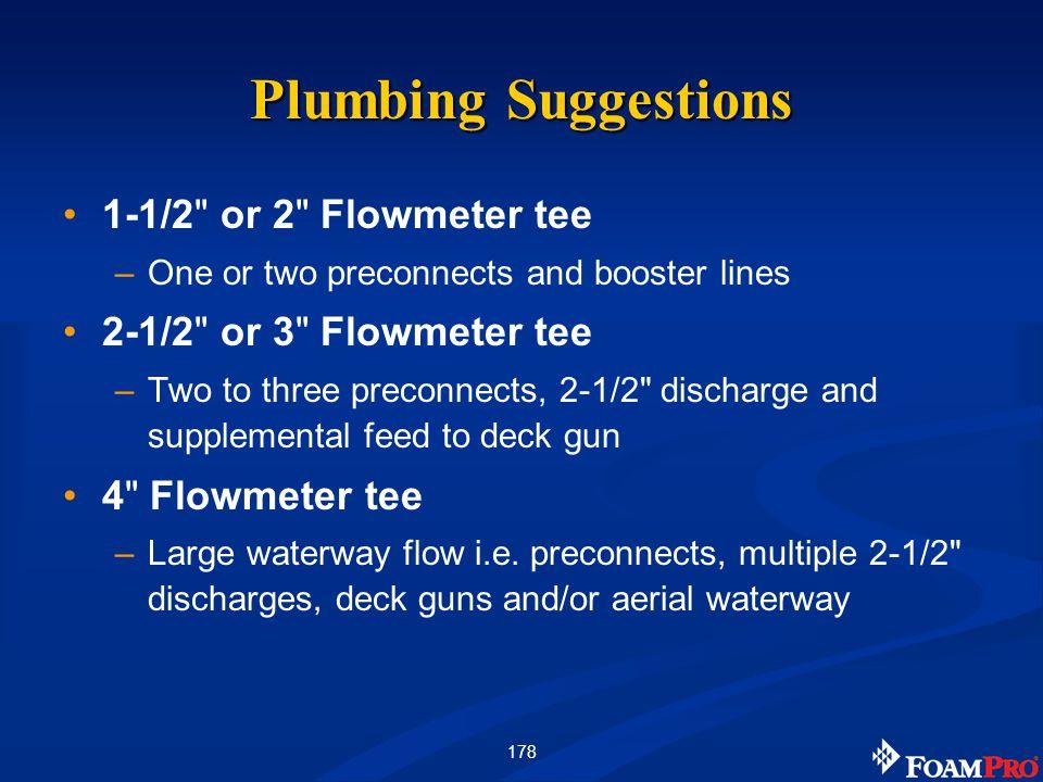 178 Plumbing Suggestions 1-1/2