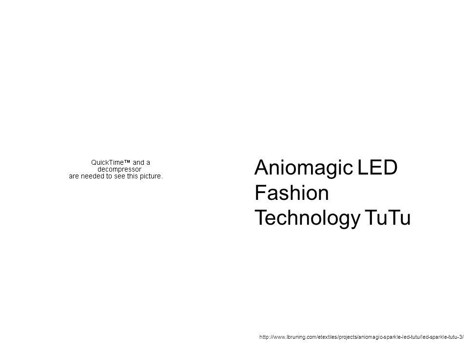 Aniomagic LED Fashion Technology TuTu http://www.lbruning.com/etextiles/projects/aniomagic-sparkle-led-tutu/led-sparkle-tutu-3/ Finding Lynne Bruning