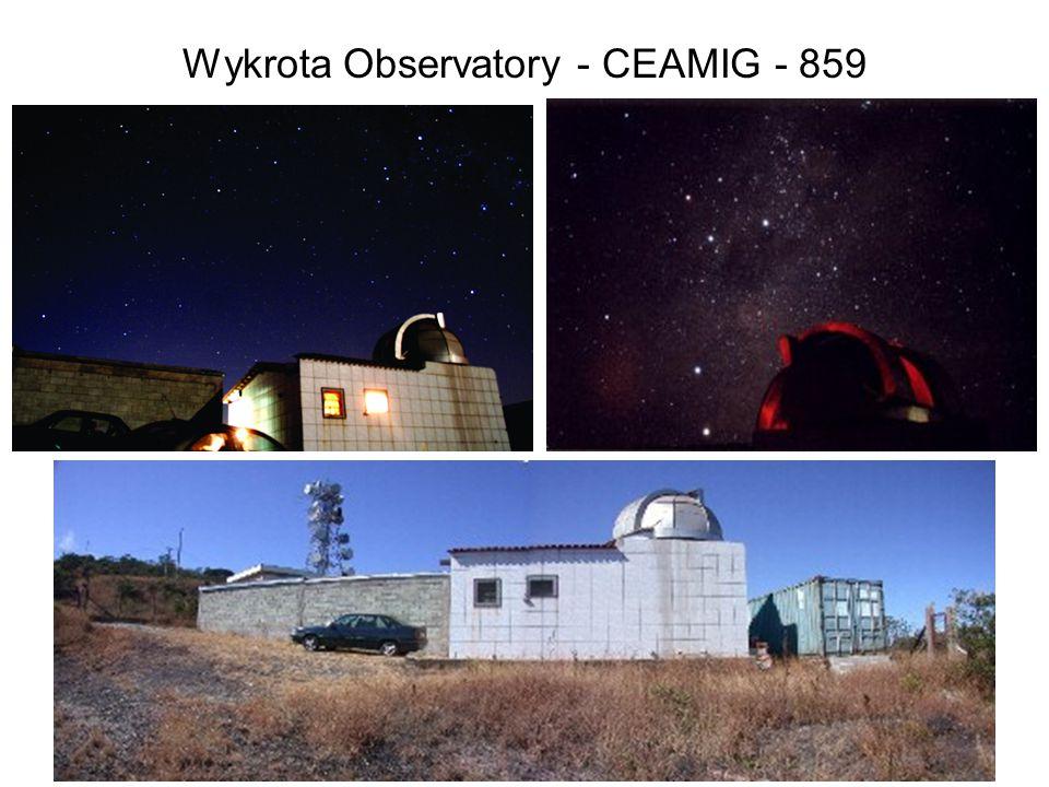 Wykrota Observatory - CEAMIG - 859