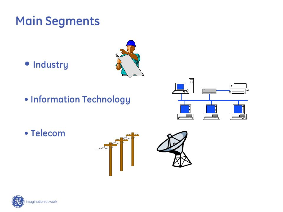 Main Segments Industry Information Technology Telecom