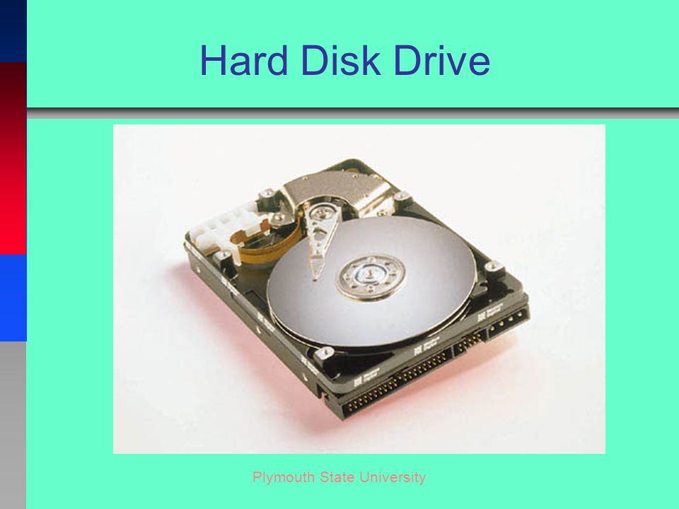 Plymouth State University Hard Disk Drive