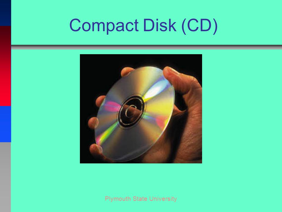 Plymouth State University Compact Disk (CD)