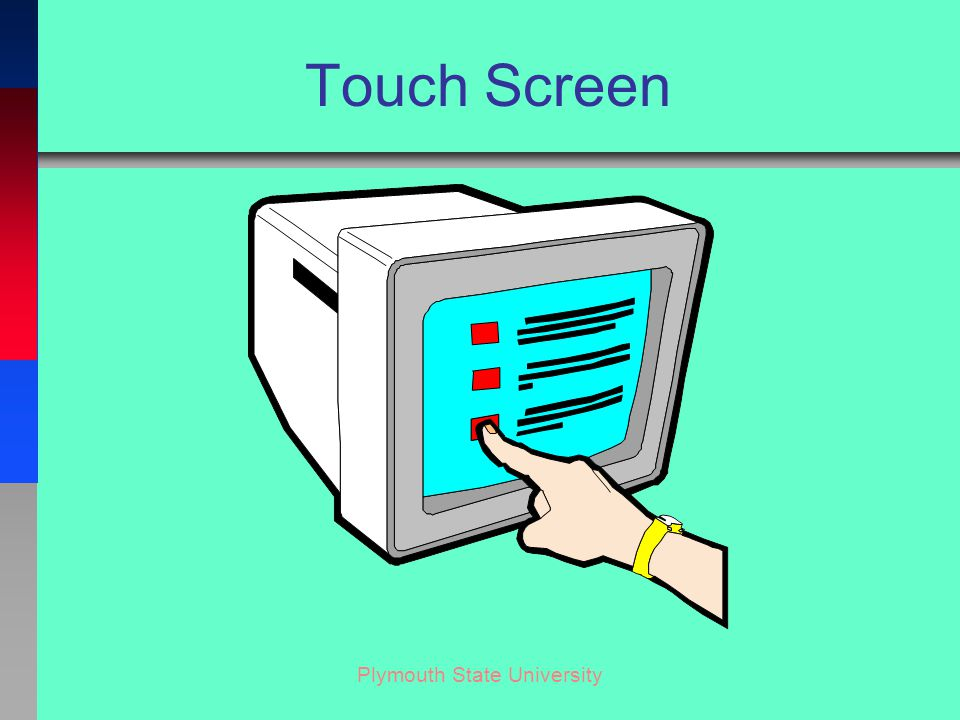 Plymouth State University Touch Screen