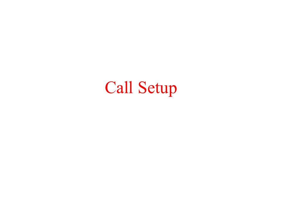 Call Setup